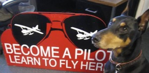 Look for our Seattle Seaplanes banner... and this red sign!