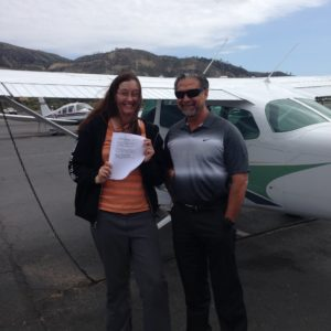 A newly-minted Instrument-rated pilot